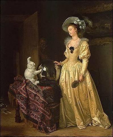 Qui a peint Le chat angora ?