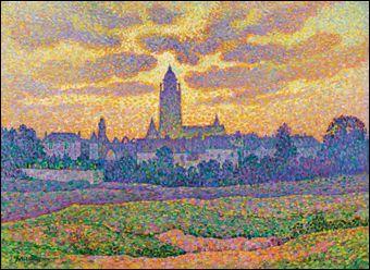 Qui a peint La tour de Batz au coucher du soleil ?