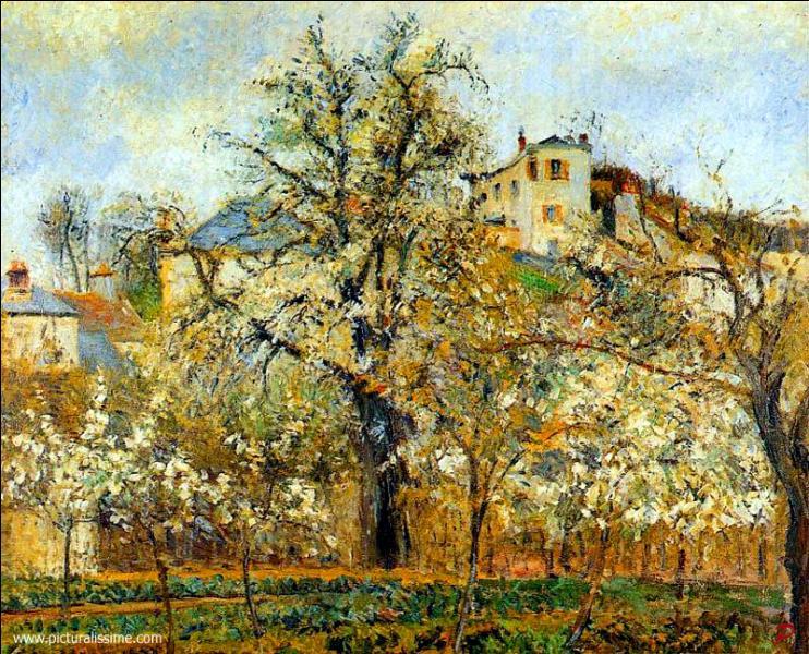 Qui a peint Pruniers en fleurs ?
