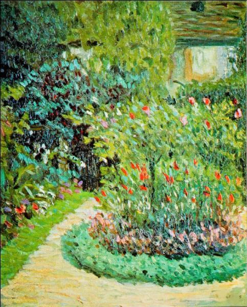 Qui a peint Le jardin de ma mère ?