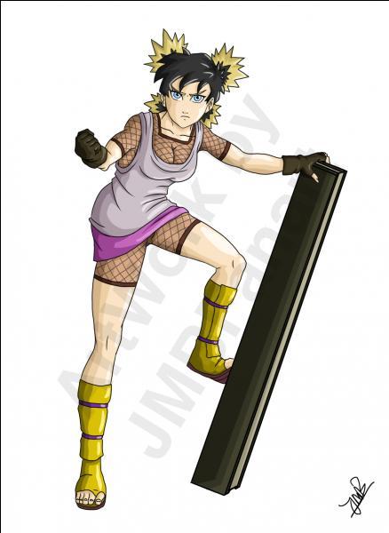 """Après s'être mariée avec Sangohan, elle a eu une fille qu'ils ont appelée """"Pan"""". L'autre vient de Suna et maîtrise le Fûton (Vent) avec son éventail. C'est la fille d'un Kazekage et la sœur d'un autre."""