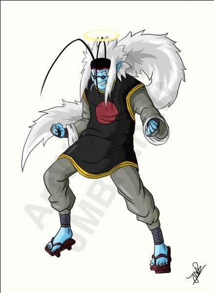 L'un des deux personnages a été le maître de Naruto ainsi que de son père. Avec l'autre, Sangoku a dû attraper un singe en le poursuivant pendant son entraînement.