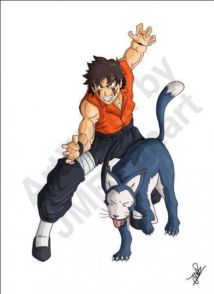 """Ces deux personnages ont un tempérament """"bestial"""" : ils ont toujours un animal auprès d'eux."""