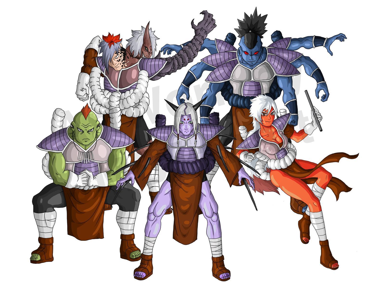 Fusion DBZ et Naruto