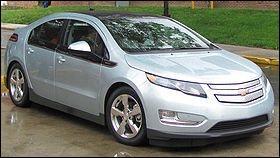 Cette voiture a été élue voiture de l'année 2012, mais comment s'appelle-t-elle ?