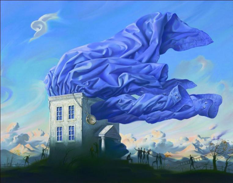 Cette oeuvre est-elle de Magritte ?