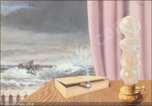 Est-ce à Magritte que l'on doit cette toile ?