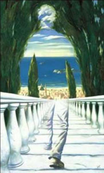 Cette toile est-elle de René Magritte ?