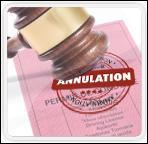 Dans quel cas le juge peut-il prononcer une annulation définitive de permis de conduire ?