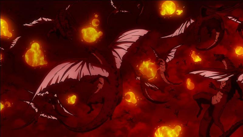 Dans le Fairy Tail futur, les 10000 dragons sont-ils tous venus ?