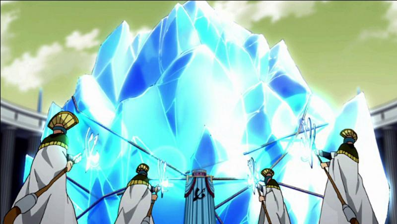 Dans l'arc Edolas, qu'y avait-il dans la première Lacrima ?