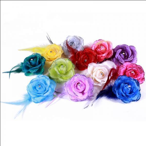 De quelle couleur Snow aime - t -il ses roses, sa passion ?