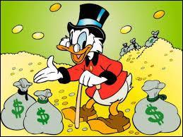 On ne présente plus ce canard le plus riche du monde. Il s'agit de ...