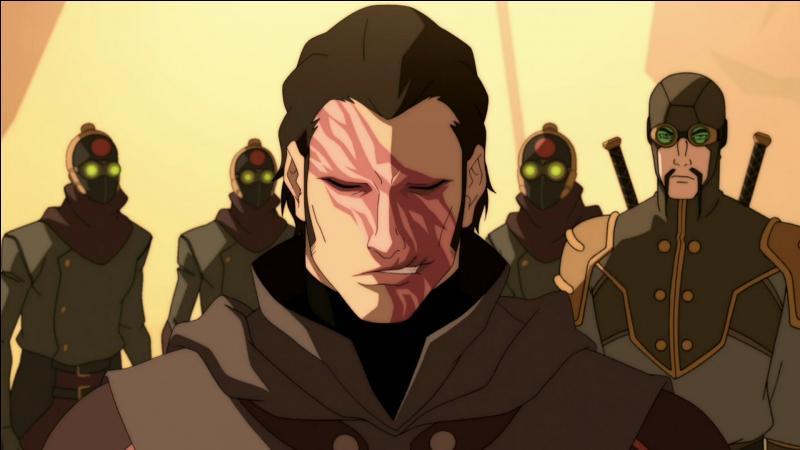 Qui a fait ces marques sur le visage d'Amon ?