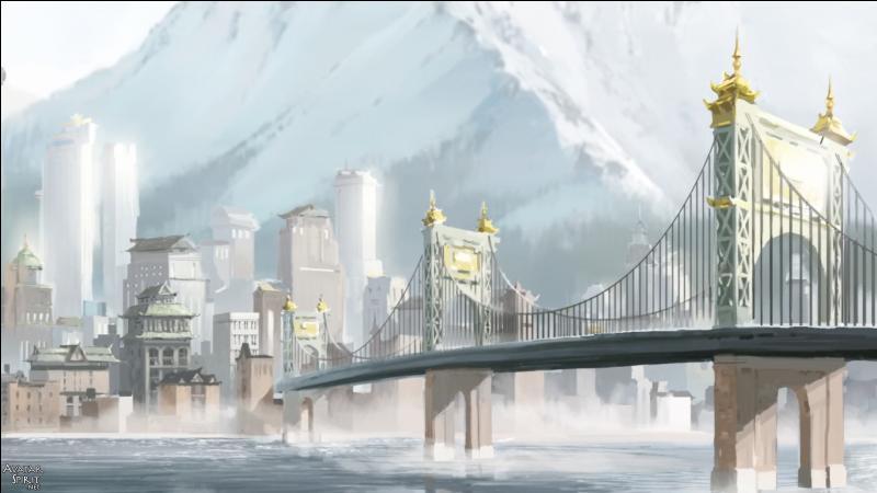Dans le 1er épisode, l'avatar Korra part vivre dans :