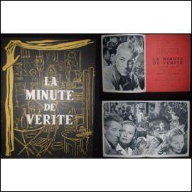 """Quels acteurs se partageaient l'affiche dans """"La Minute de vérité"""" de Jean Delannoy ?"""