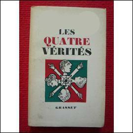 """Dramaturge ayant écrit la pièce de théâtre """"Les Quatre Vérités"""", il est connu pour avoir écrit le roman """"La Jument verte"""", quel est son nom ?"""