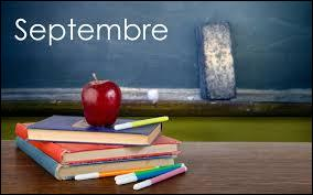 "Septembre, rentrée des classes ! Comment dit-on ""septembre"" en anglais ?"