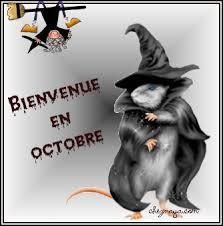 "Octobre, sorcellerie ! Comment dit-on ""octobre"" en anglais ?"