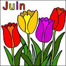 """Juin est souvent synonyme de fête de la musique ou d'été. Comment dit-on """"juin"""" en anglais ?"""