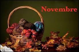"""Novembre, mon anniversaire ! Comment dit-on """"novembre"""" en anglais ?"""