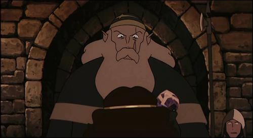 Comment s'appelle ce sorcier étant un antagoniste ambigu ? De quel oeuvre japonaise est-il tiré ?