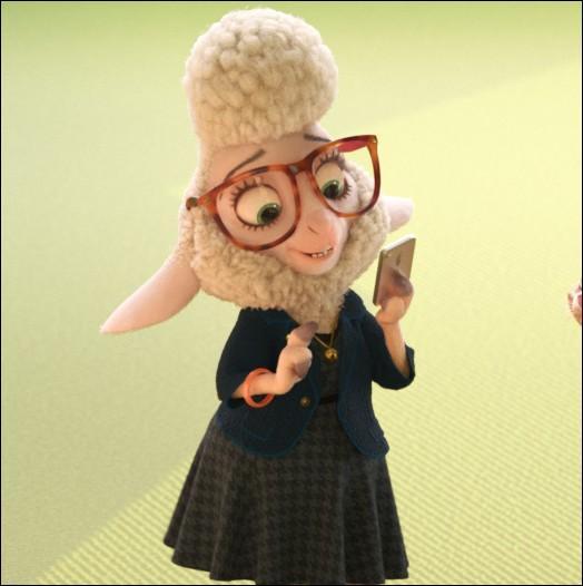 Quel est le nom de cette moutonne qui se venge de tous les prédateurs qu'elle hait car son patron-lion n'a aucune estime pour elle vu qu'elle est une proie ?