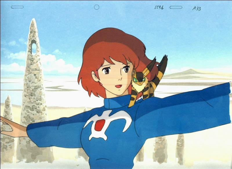 On retrouve le petit animal se trouvant sur l'épaule de Nausicaä dans un autre film de Miyazaki, lequel est-ce ?