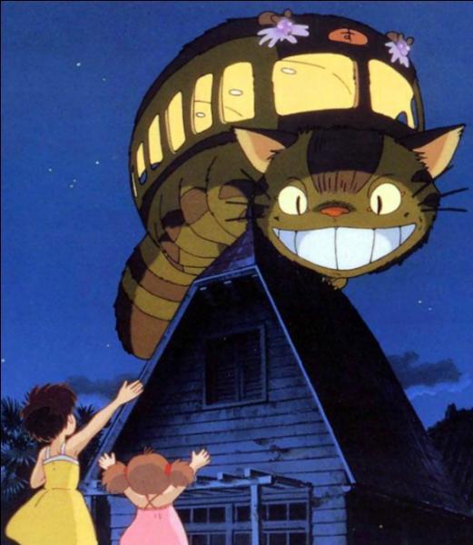 """Selon une croyance japonaise, le chat de """"Mon voisin Totoro"""" serait :"""