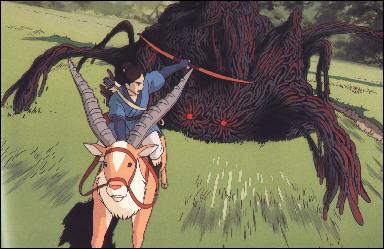 """Dans """"Princesse Mononoké"""", au tout début du film, qui Ashitaka tue-t-il ?"""