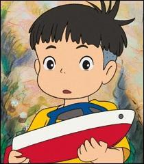 """Dans le film """"Ponyo sur la falaise"""", Sosuke est très doué pour la navigation, mais quel est son autre talent ?"""
