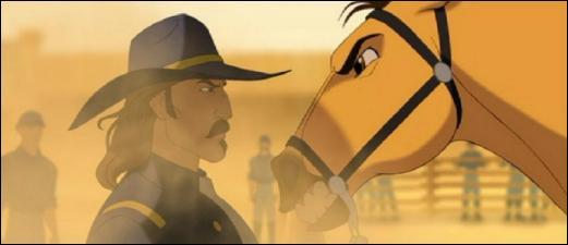 A quel animal Spirit compare-t-il le colonel du fort ?