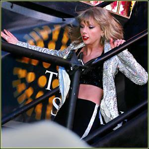 Est-il vrai ou faux que Taylor Swift a fait une chute en 2015 ?