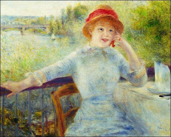 "Qui a peint ""Alphonsine Fournaise"" ?"