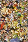 Quel est le nombre de personnages principaux dans 'Dragon Ball' ?