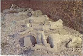Pompéi a été détruite en même temps qu'Herculanum.