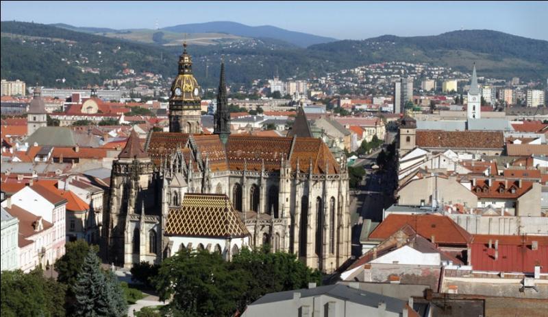 Kosice (240 000 habitants) a été capitale européenne de la culture en 2013, en même temps que Marseille. Mais où cette ville est-elle localisée ?