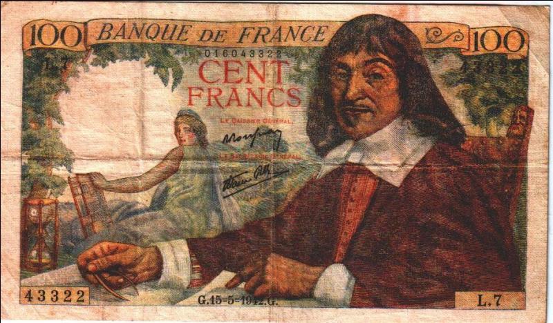 """Le 31 mars 1596 : naissance du futur mathématicien, physicien et philosophe français ..., connu pour sa formule """"Je pense donc je suis""""."""