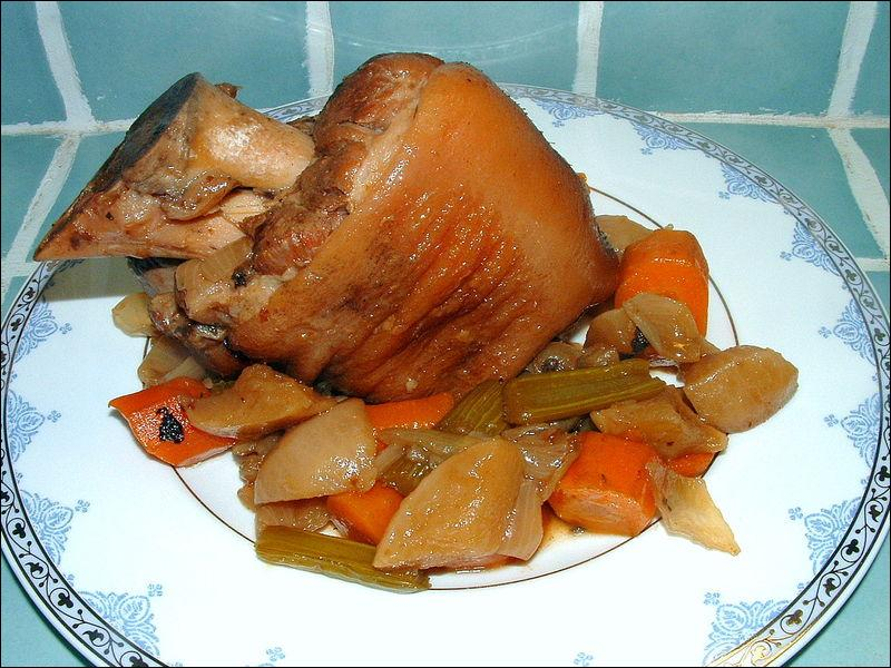 Quizz si on mangeait du porc quiz cuisine - Cuisiner un jambonneau ...