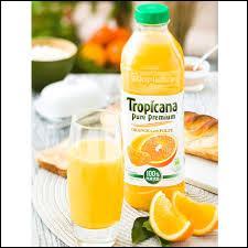 "De quel pays la marque de jus de fruits ""Tropicana"" est-elle originaire ?"