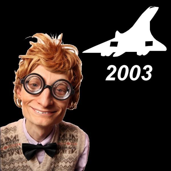 Quelle est la date du dernier vol du Concorde ?
