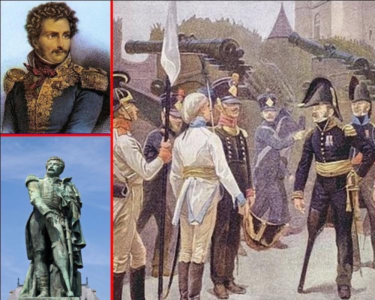 """""""Je rendrai Vincennes quand on me rendra ma jambe"""". Quel général de Napoléon a prononcé cette phrase aux émissaires des Alliés venus lui demander sa reddition le 31 mars 1814 ?"""