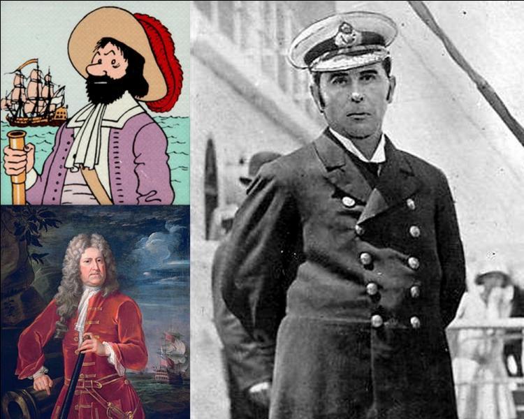 Hergé s'est inspiré de Nicholas Haddock pour son personnage du capitaine Haddock. Mais qui était cet autre capitaine de marine anglais : Herbert James Haddock ?