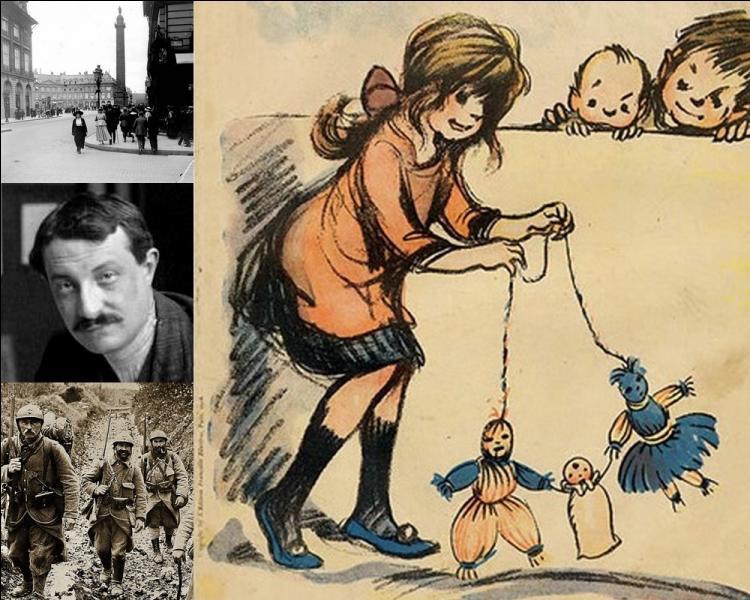 Poupées fétiches crées par Francisque Poulbot en 1913, elles étaient censées protéger les soldats du front et les parisiens des bombardements. Quels noms portaient ces poupées porte-bonheur ?
