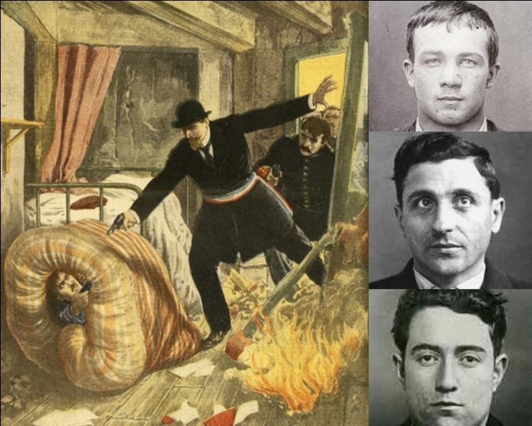 Le 28 avril 1912, près de trente mille personnes accourent vers un garage de Choisy, pour participer à l'assaut du chef d'une bande de gangsters. De qui s'agissait-il ?