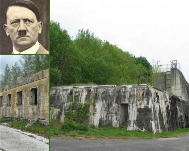 Près de Soissons, à Margival, encore intact aujourd'hui et resté secret jusqu'à la fin de 1990, c'était le QG d'Hitler en France. Quand y fit-il une visite éclair ?
