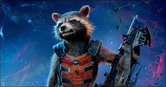 """Dans """"Les Gardiens de la Galaxie"""", comment s'appelle le raton laveur ?"""