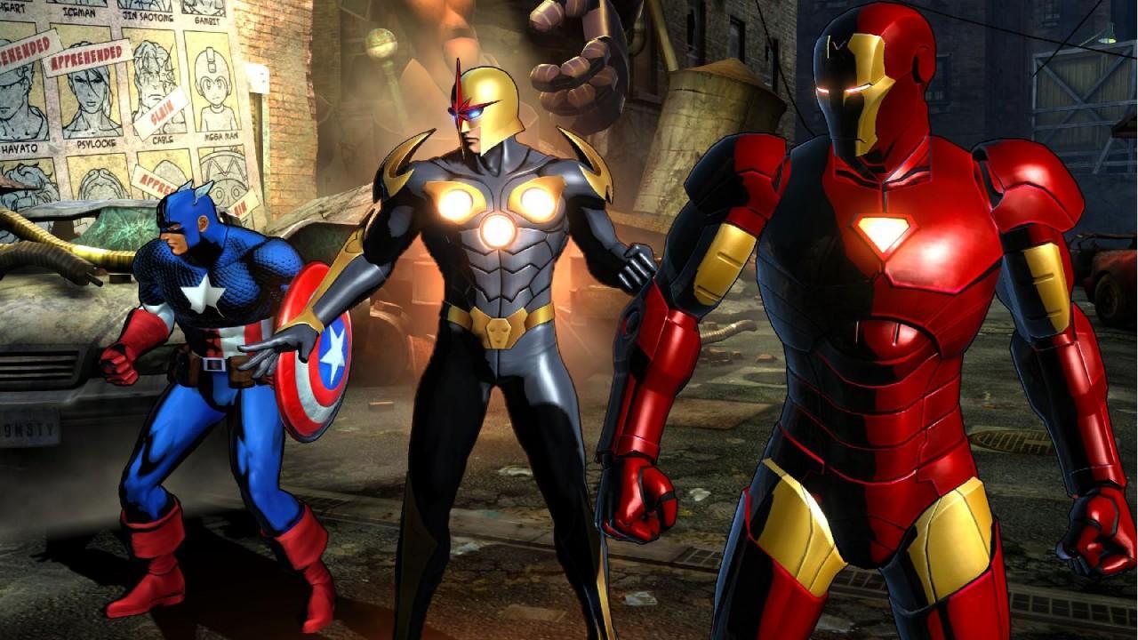 Tous les films 'Marvel'