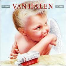 Comment s'appelle l'album du groupe Van Halen où figure sur la pochette un ange en train de fumer une cigarette ?