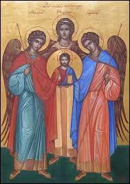 Dans la religion chrétienne, comment s'appellent les trois principaux archanges ?